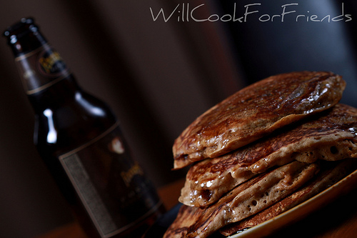Beer and Bacon Mancakes – pancakes just don't get any manlier than ...