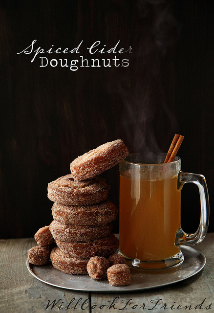 Spiced Cider Doughnuts – recipe in post