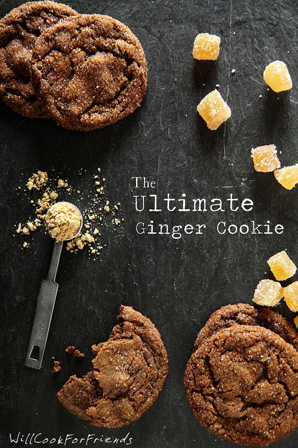 The Ultimate Ginger Cookies (with recipe)