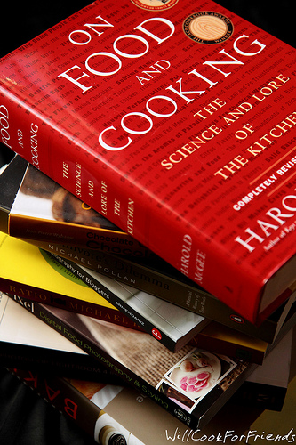 Books on food and cooking