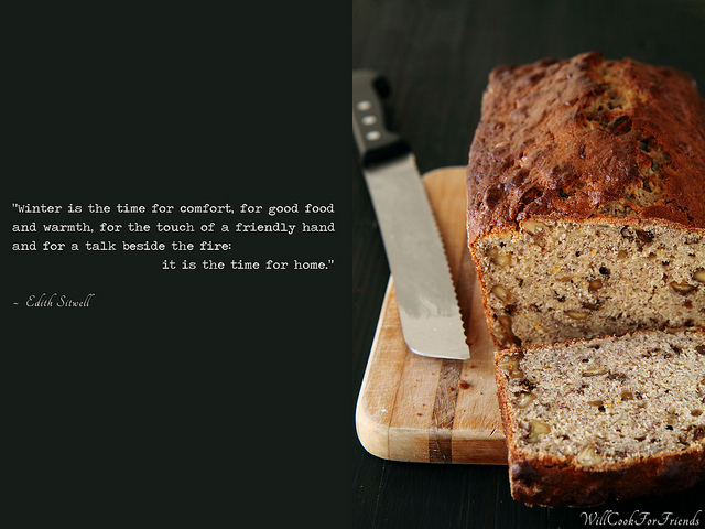 Banana Nut Bread and Home