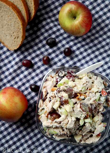 Picnic Ready Chicken Salad