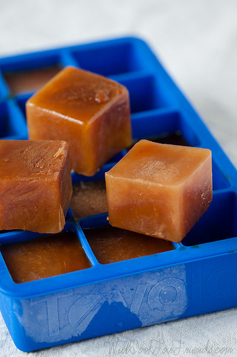 Chai Iced Tea Cubes | Will Cook For Friends