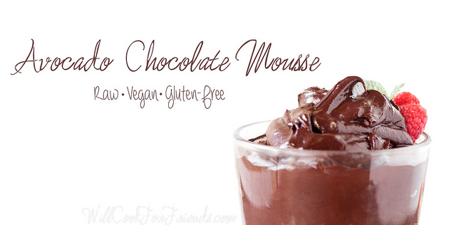 Avocado Chocolate Mousse (Raw, Vegan, Gluten-Free)