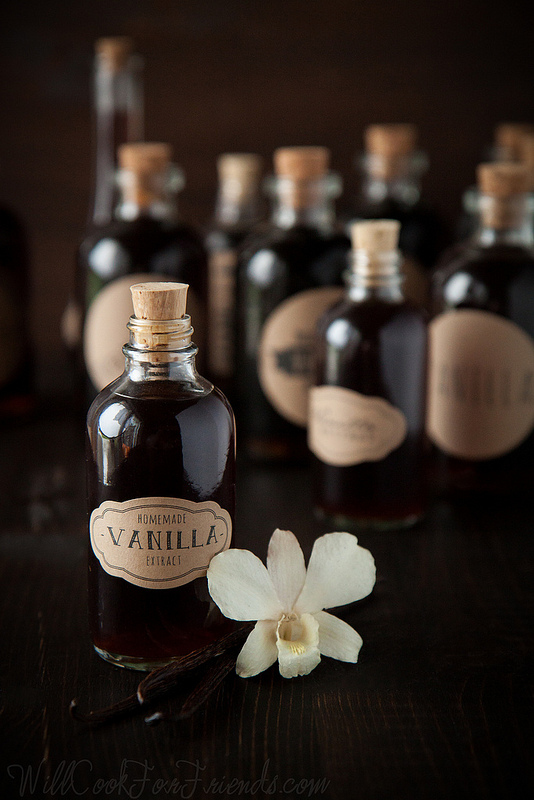 Homemade Vanilla Extract (cheaper than store-bought, and easy to make!)
