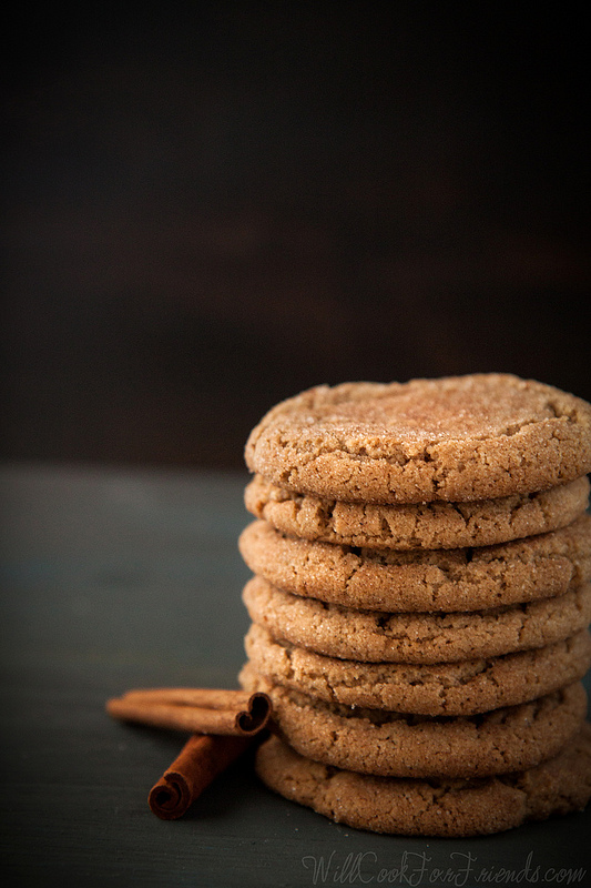 Brown Butter Chai Spiced Snickerdoodles (The Great Food Blogger Cookie ...