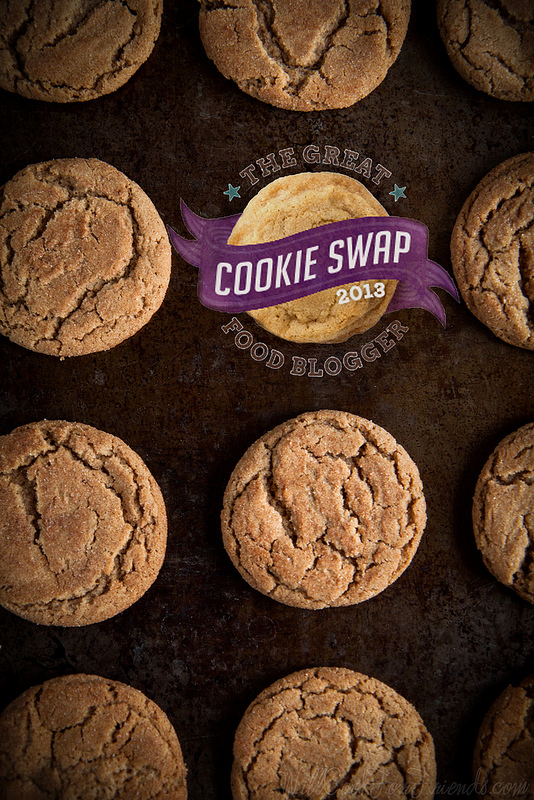 Brown Butter Chai Spiced Snickerdoodles (The Great Food Blogger Cookie Swap 2013) | Will Cook For Friends