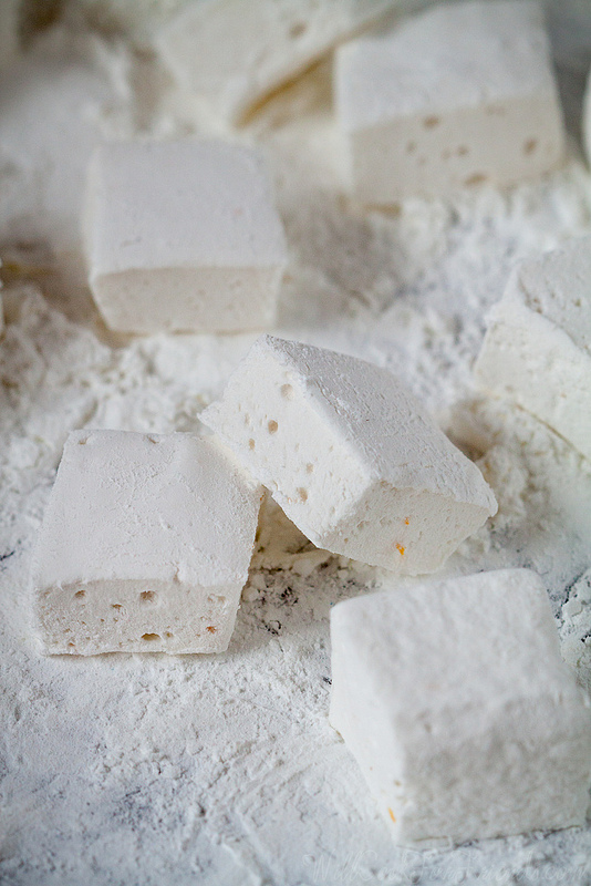 Homemade Orange Zest Marshmallows by Will Cook For Friends (who knew homemade marshmallows were so easy?