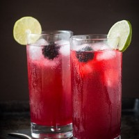 Blackberry Soda with Homemade Blackberry Syrup | Will Cook For Friends