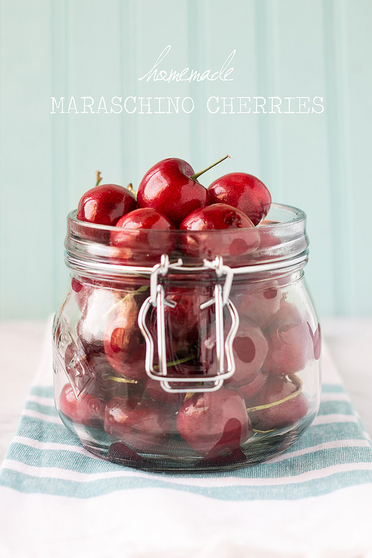 Homemade Maraschino Cherries {DIY Cocktail Cherries} - Will Cook For ...