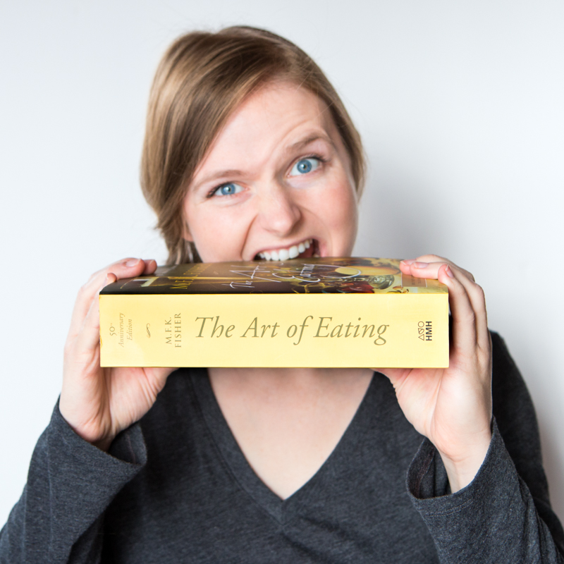 The Art of Eating. Clearly, I haven't read it yet. (One of my new year's resolutions: consume more literature.)