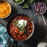 Vegetarian Three Bean Chili, web ready-3