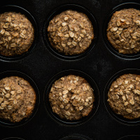 Banana oat breakfast muffins, web-10