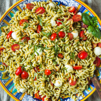 Caprese pasta salad,  web-2