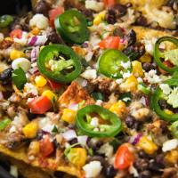 Chorizo and Black Bean Loaded Nachos, web-7