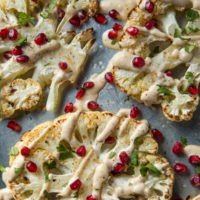 roasted-cauliflower-with-tahini-garlic-sauce