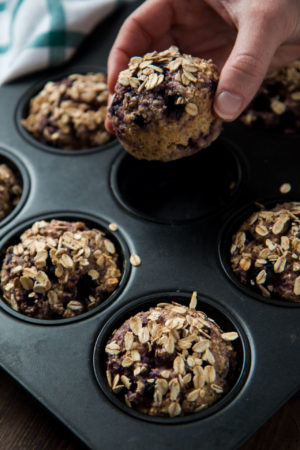 blueberry-oat-breakfast-muffin