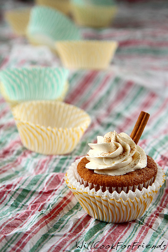 Eggnog Cupcakes, with light-as-air Buttercream, 5/5
