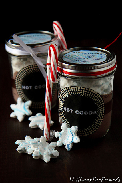 Hot Cocoa Mix with Snowflake Marshmallows