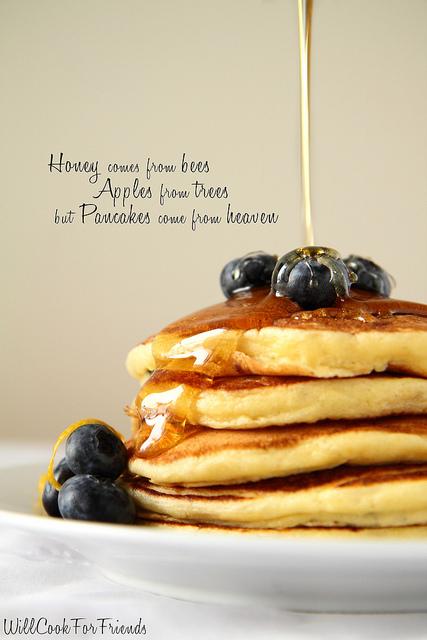 Lemon Blueberry Pancakes Homemade Pancake Mix Two Ways