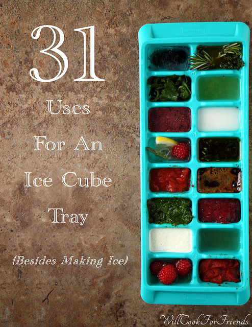 31 Uses For An Ice Cube Tray (other than making ice)