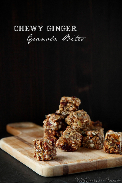 Chewy Ginger Granola Bites & Random Acts of Kindness