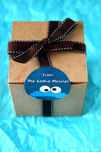 Chocolate Chip Cookie Monster Cookies & Random Acts of Kindness