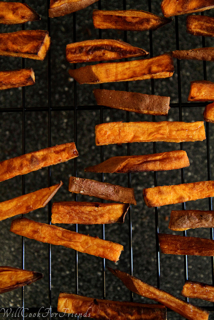 Sweet Potato Fries - The Quest For Crispy