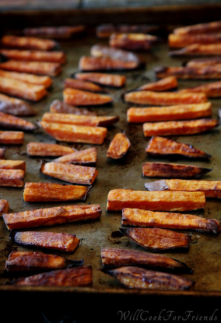 Sweet Potato Fries - tips and tricks
