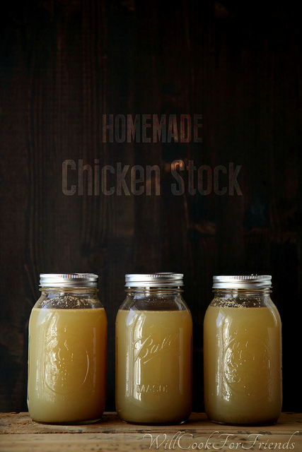 Homemade Chicken Stock - Or, How to Boil Water
