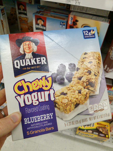 Quaker Yogurt Bars contain High Fructose Corn Syrup