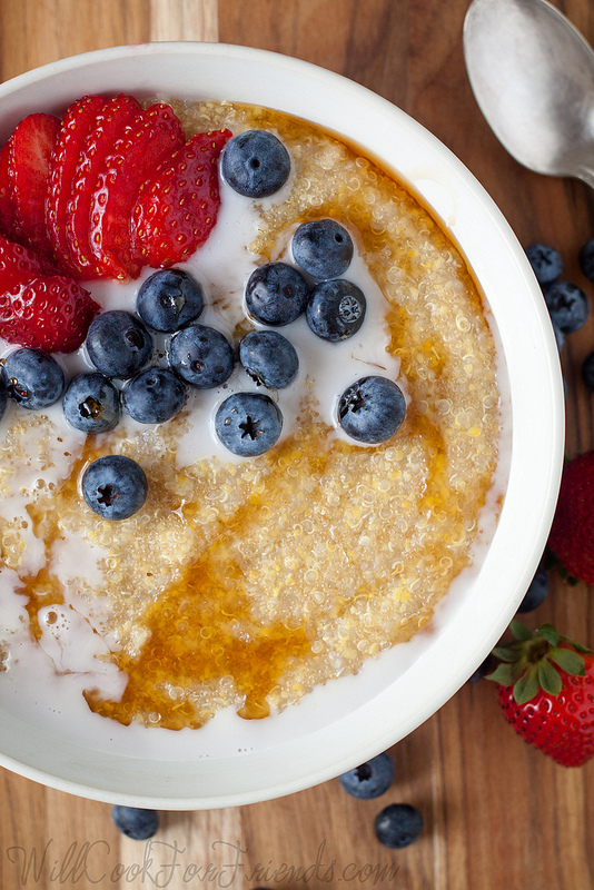The Ultimate Breakfast: Amaranth, Quinoa, and Polenta Porridge | Will Cook For Friends