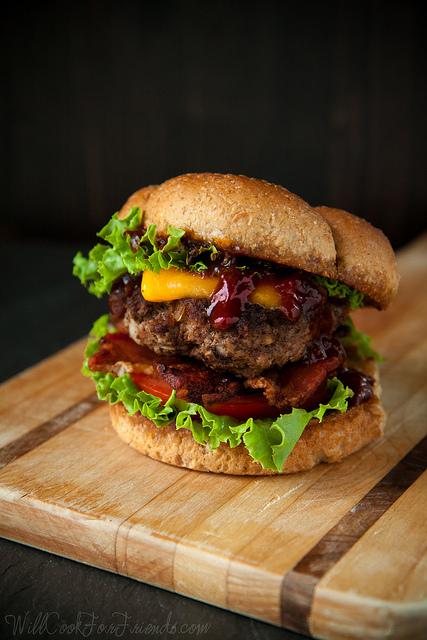 Barbecue Bacon Cheeseburger - Now That's a Burger!