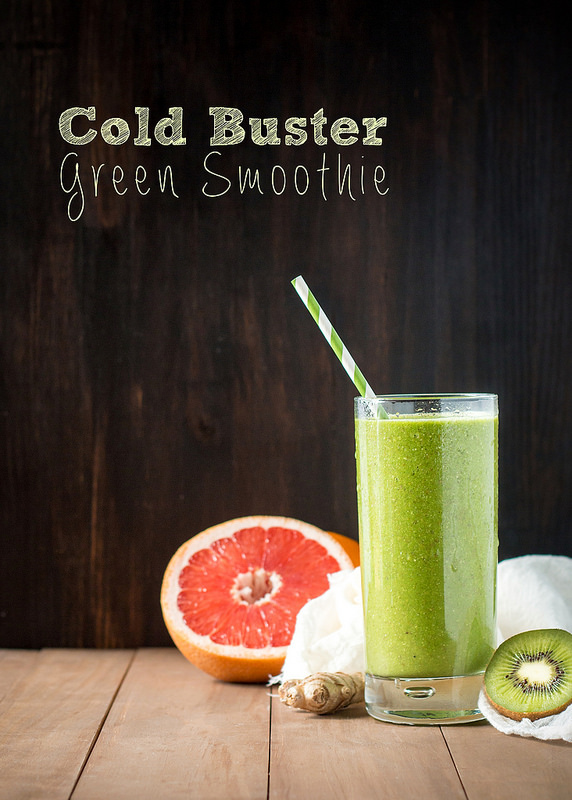 Cold Buster Green Smoothie | Will Cook For Friends