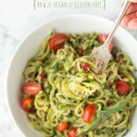 Zucchini Pesto Pasta | Will Cook For Friends