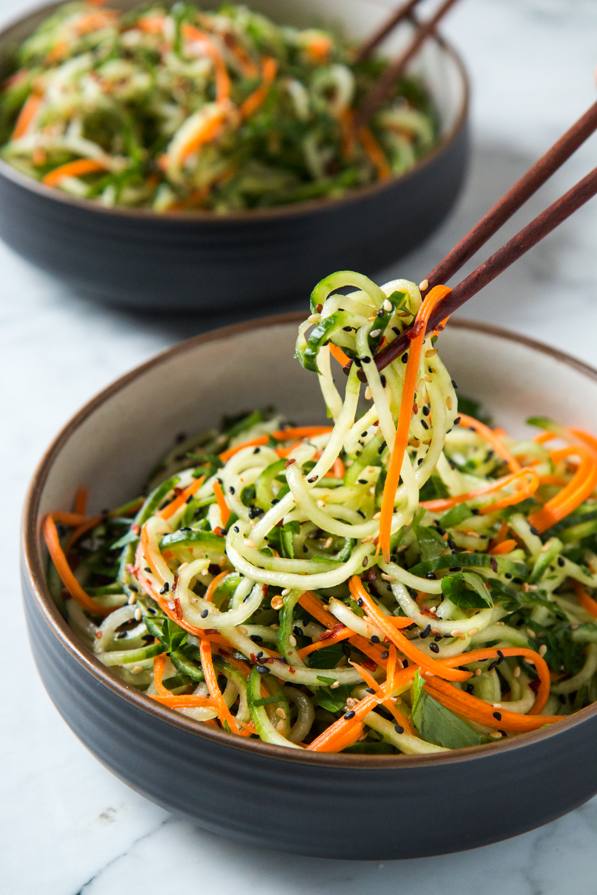 Asian Sesame Cucumber Salad Will Cook For Friends