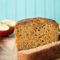 Zucchini Carrot Apple Bread,  web-5