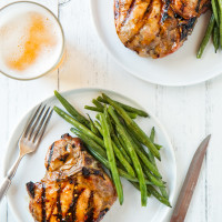 Apricot Glazed Grilled Pork Chops, web-1