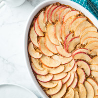 Apple Cinnamon Baked Oatmeal, web file-3