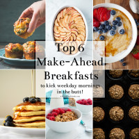 Top 6 Make Ahead Breafasts collage 2
