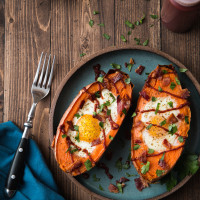 Sweet Potato Breakfast Boats, web-1