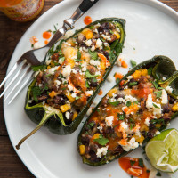 Chorizo and Black Bean Stuffed Poblano Peppers, web-3