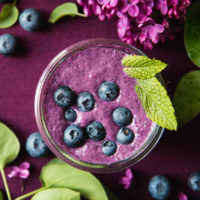 Blueberry Beet Smoothie, web-1