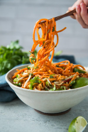 vegetarian-sweet-potato-pad-thai