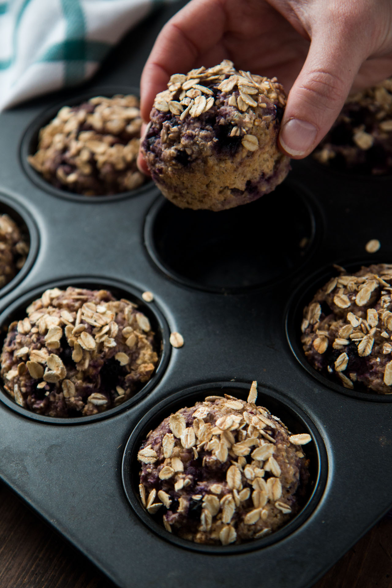Blueberry Oat Breakfast Muffins Gluten Free Vegan Refined Sugar Free Will Cook For Friends