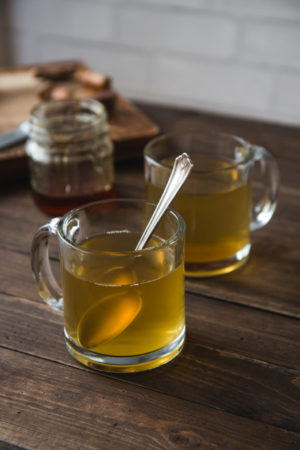 Turmeric Ginger Tea With Honey